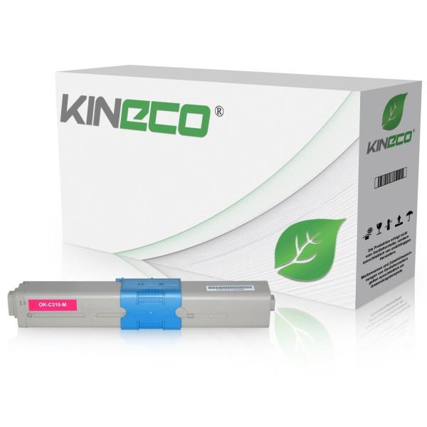 Toner kompatibel zu OKI C310 44469705 XL Magenta