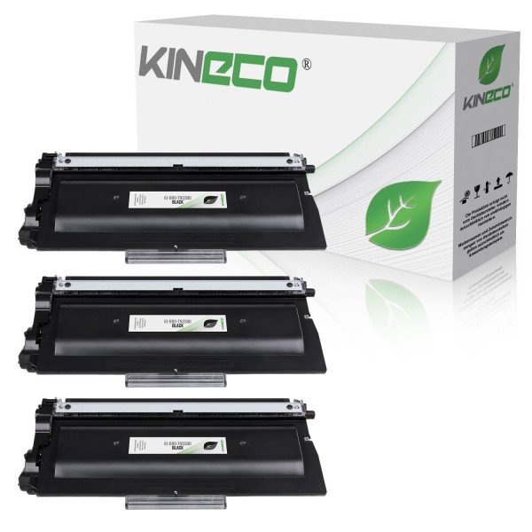 3 Toner kompatibel zu Brother TN-3380 XL Schwarz