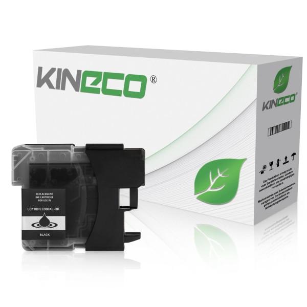 Tintenpatrone kompatibel zu Brother LC-1100BK XL Schwarz