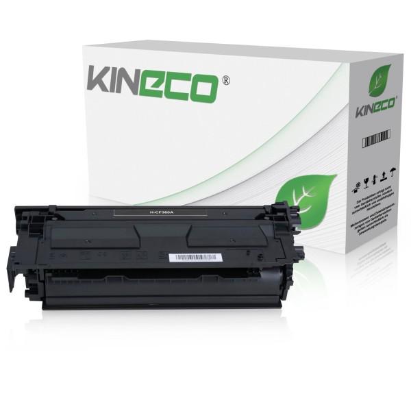 Toner kompatibel zu HP 508A CF360A XL Schwarz