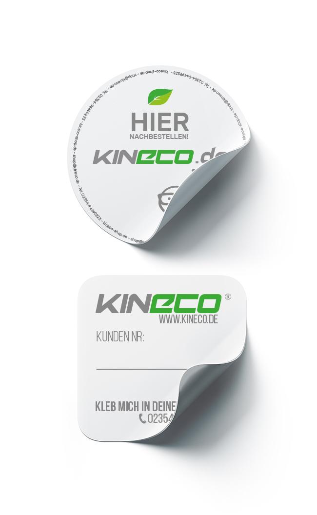kineco-etikett
