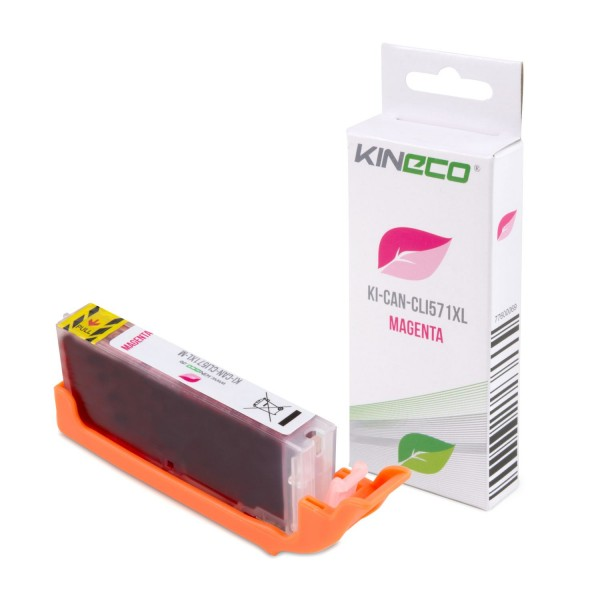 Tintenpatrone kompatibel zu Canon CLI-571MXL 0333C001 XL Magenta