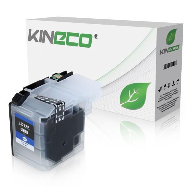 Tintenpatrone kompatibel zu Brother LC-12EBK XL Schwarz