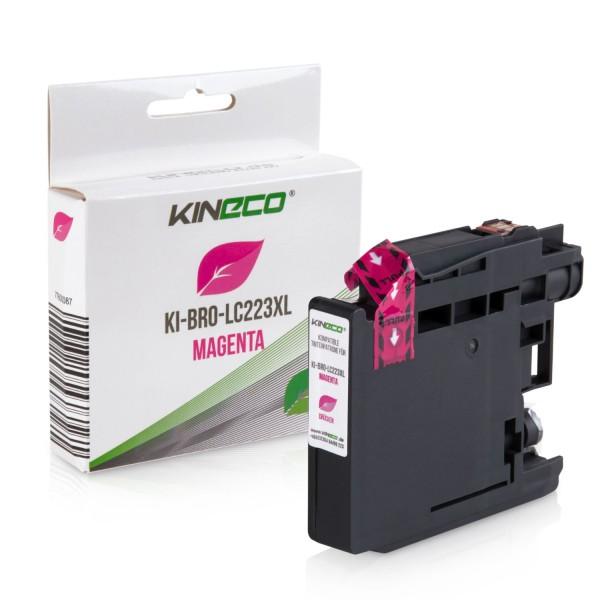 Tintenpatrone kompatibel zu Brother LC-223M XL Magenta