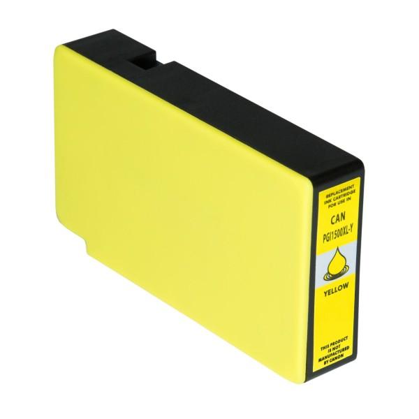 Tintenpatrone kompatibel zu Canon PGI-1500XLY 9195B001 XL Yellow