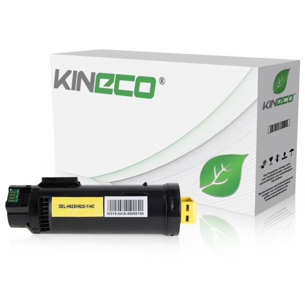 Toner kompatibel zu Dell H625 3P7C4 593-BBSE XL Yellow