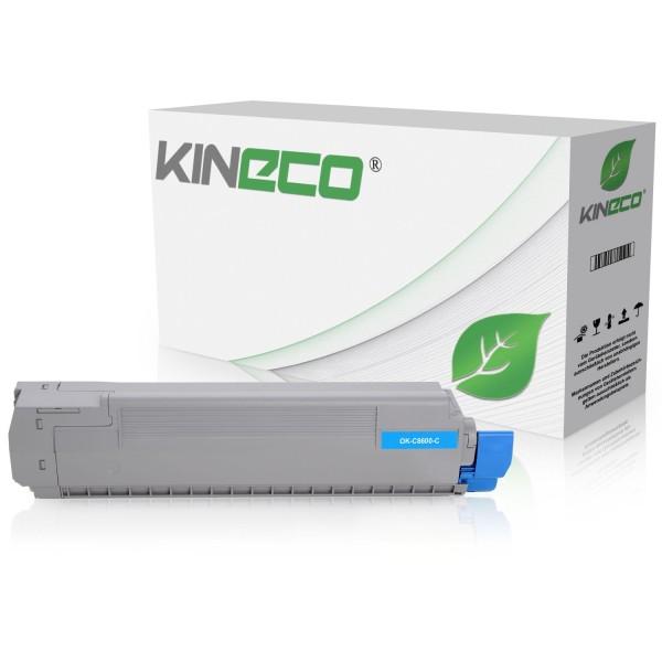 Toner kompatibel zu OKI C8600 C8800 43487711 XL Cyan