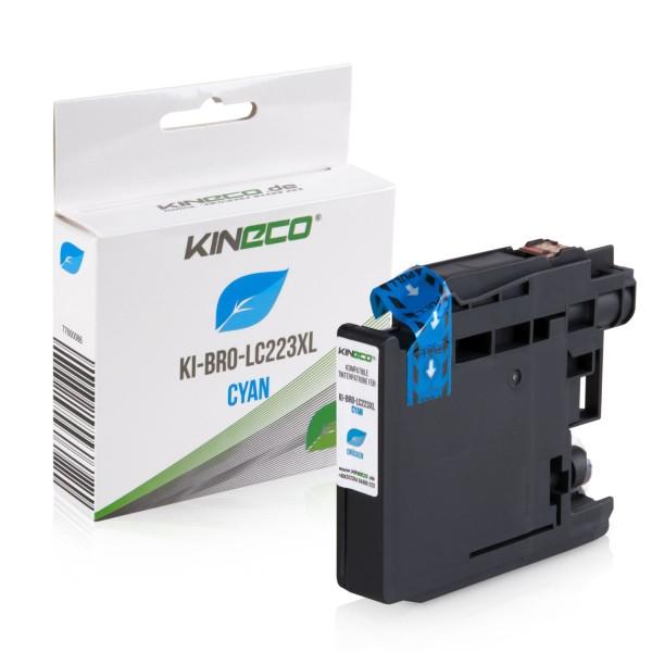 Tintenpatrone kompatibel zu Brother LC-223C XL Cyan
