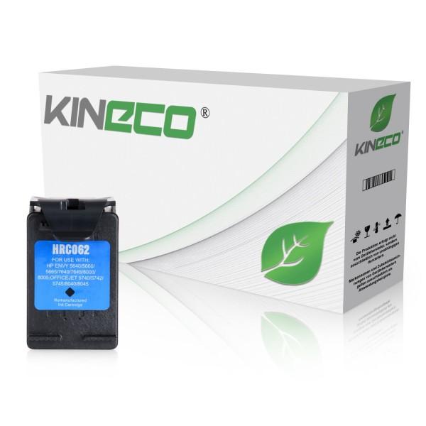 Tintenpatrone kompatibel zu HP 62XL C2P05AE XL Schwarz
