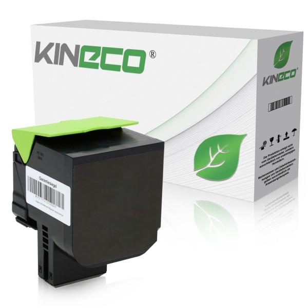 Toner kompatibel zu Lexmark CX510 800X1 80C0X10 XL Schwarz