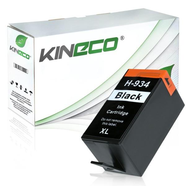 Tintenpatrone kompatibel zu HP 934XL C2P23AE XL Schwarz