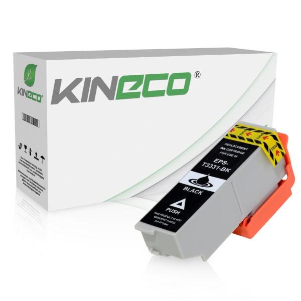 Tintenpatrone kompatibel zu Epson Stylus XP530 33 C13T33314010 XL Schwarz