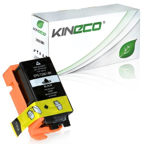 Tintenpatrone kompatibel zu Epson Stylus WF100 266 C13T26614010 XXL Schwarz