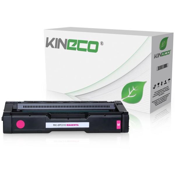 Toner kompatibel zu Ricoh SPC-231 SPC-310 XL TYPESPC310HE 406481 XXL Magenta
