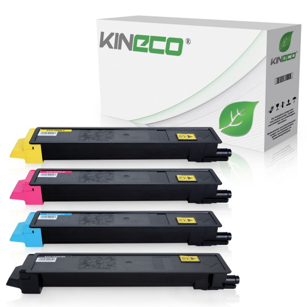4 Toner kompatibel zu Kyocera TK-895 XL