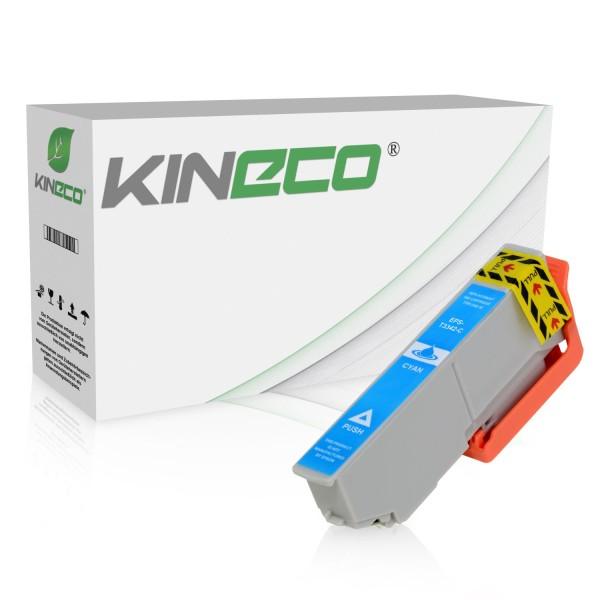 Tintenpatrone kompatibel zu Epson Stylus XP530 33 C13T33424010 XL Cyan