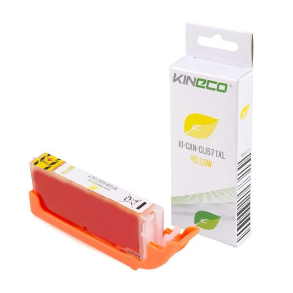 Tintenpatrone kompatibel zu Canon CLI-571YXL 0334C001 XL Yellow