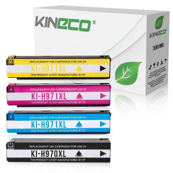4 Tintenpatronen kompatibel zu HP 970 971 XL
