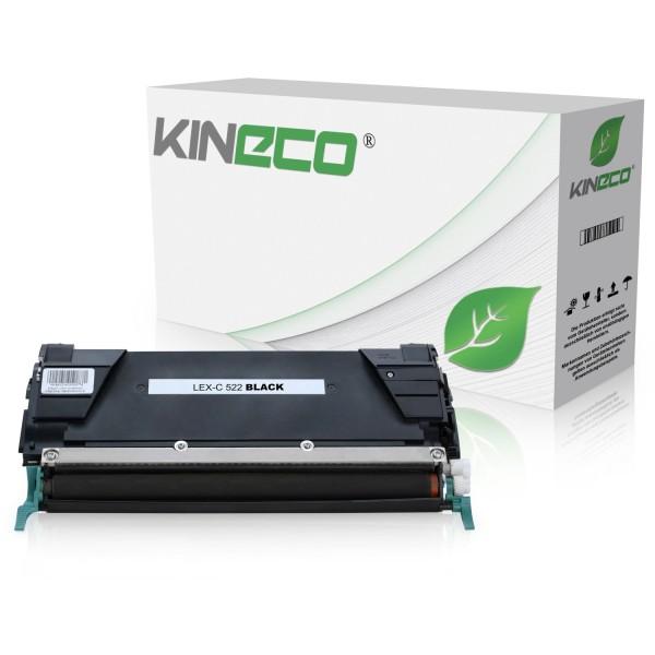 Toner kompatibel zu Lexmark C520 C522 C530 C5222KS XL Schwarz