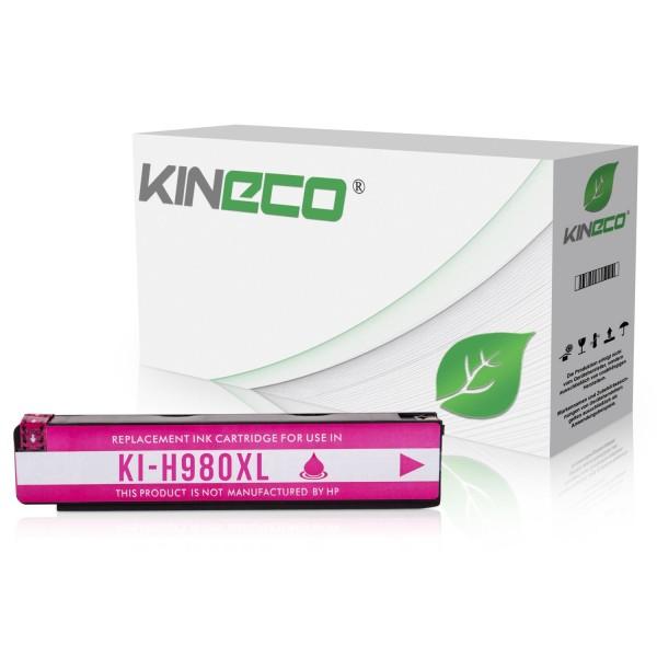 Tintenpatrone kompatibel zu HP 980 D8J08A XL Magenta