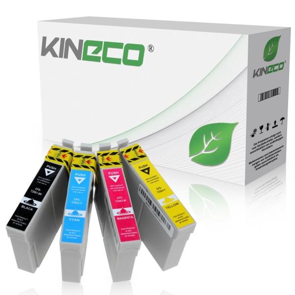 4 Tintenpatronen kompatibel zu Epson T2981-T2984 Stylus XP235 XL
