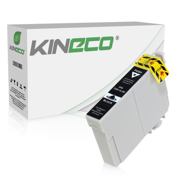 Tintenpatrone kompatibel zu Epson Stylus XP235 29XL C13T29914010 XL Schwarz