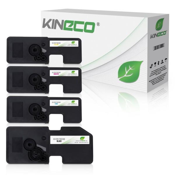 4 Toner kompatibel zu Kyocera TK-5240 HC