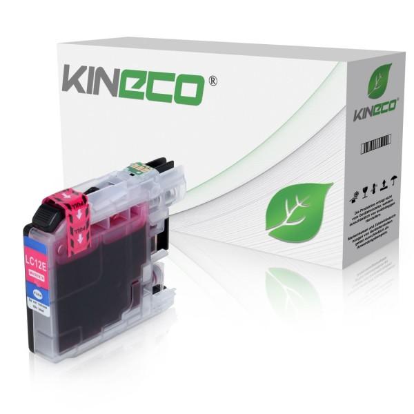 Tintenpatrone kompatibel zu Brother LC-12EM XL Magenta