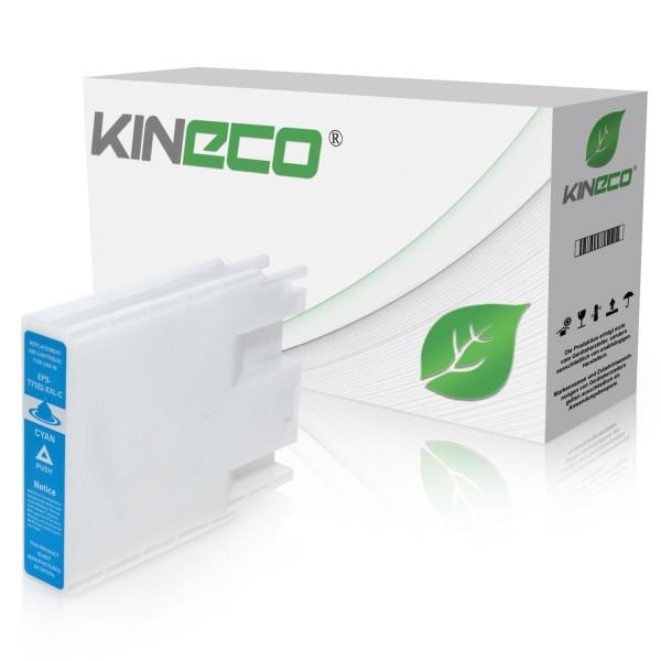 Tintenpatrone kompatibel zu Epson Stylus WF8000 T7552 C13T755240 XL Cyan