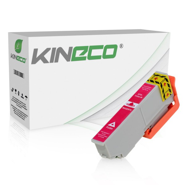 Tintenpatrone kompatibel zu Epson Stylus XP530 33XL C13T33634010 XL Magenta