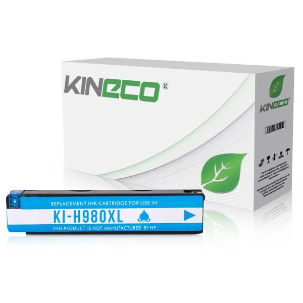 Tintenpatrone kompatibel zu HP 980 D8J07A XL Cyan