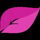 kineco-blatt-magenta