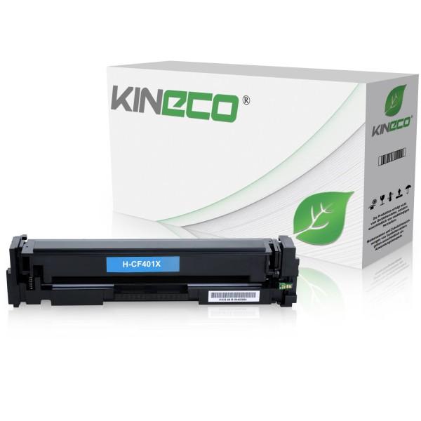 Toner kompatibel zu HP 201X CF401X XXL Cyan