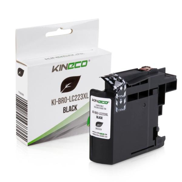 Tintenpatrone kompatibel zu Brother LC-223BK XL Schwarz