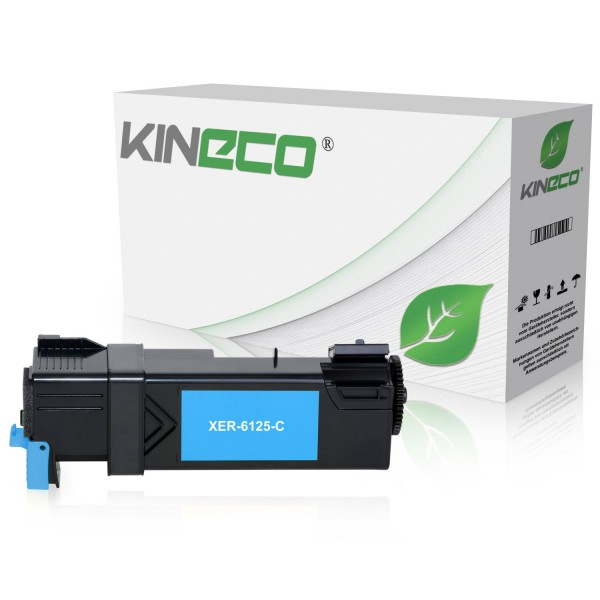 Toner kompatibel zu Xerox Phaser 6125 106R01331 XL Cyan