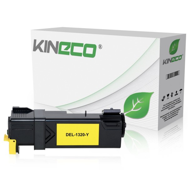 Toner kompatibel zu Dell 1320 PN124 593-10260 XL Yellow