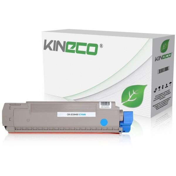 Toner kompatibel zu OKI ES8460 44059231 XL Cyan