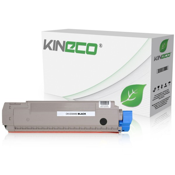 Toner kompatibel zu OKI ES8460 44059232 XL Schwarz