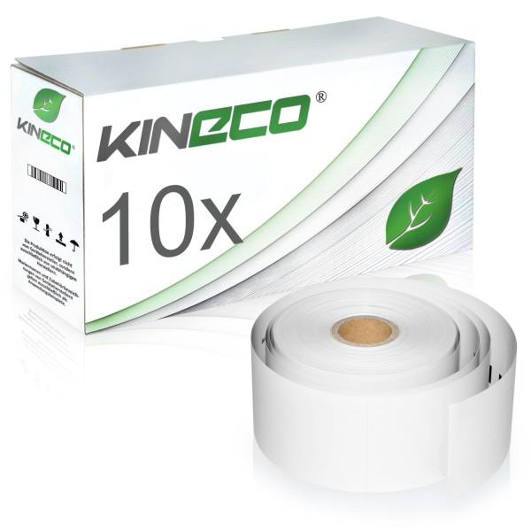 10x Etiketten kompatibel zu Dymo S0929100, 51mm x 89mm