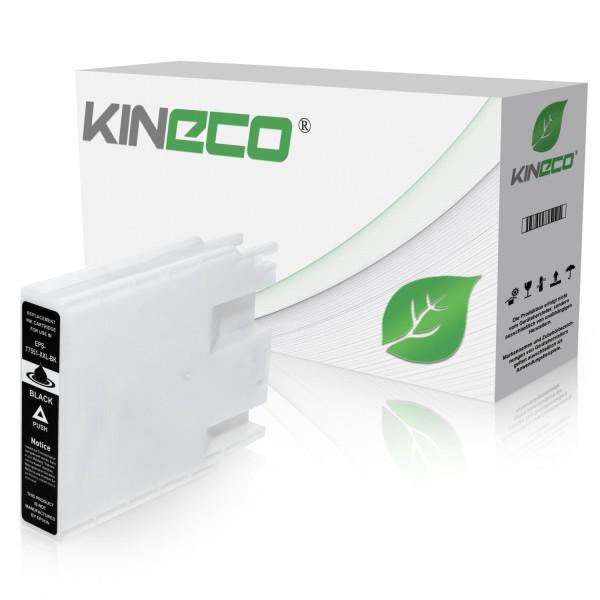Tintenpatrone kompatibel zu Epson Stylus WF8000 T7551 C13T755140 XL Schwarz