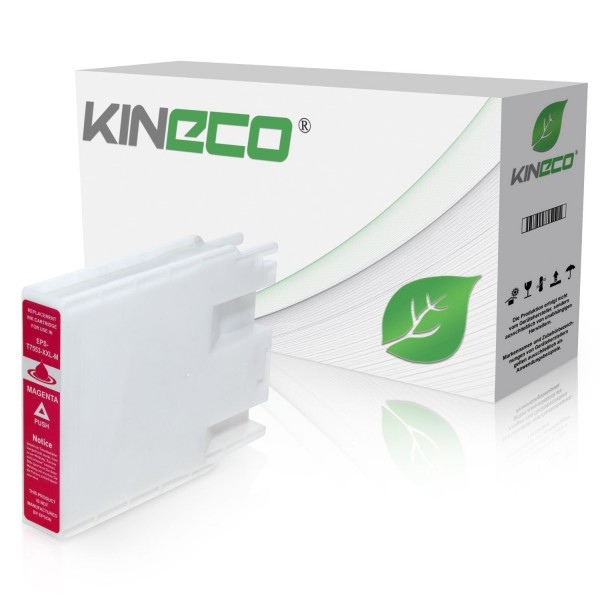 Tintenpatrone kompatibel zu Epson Stylus WF8000 T7553 C13T755340 XL Magenta