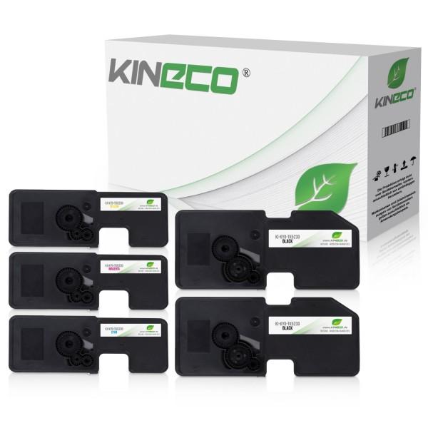 5 Toner kompatibel zu Kyocera TK-5230 XL
