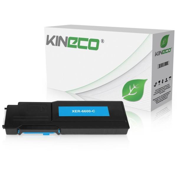 Toner kompatibel zu Xerox Phaser 6600 106R02229 XL Cyan