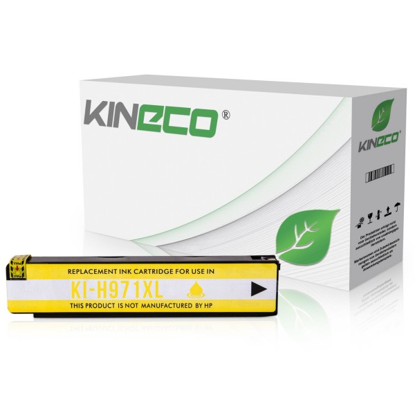 Tintenpatrone kompatibel zu HP 971XL CN628AE XL Yellow