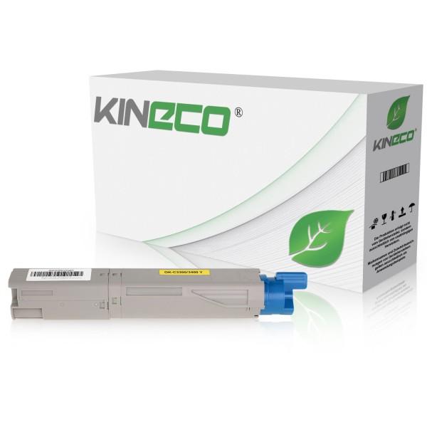 Toner kompatibel zu OKI C3300 C3450 43459329 XL Yellow