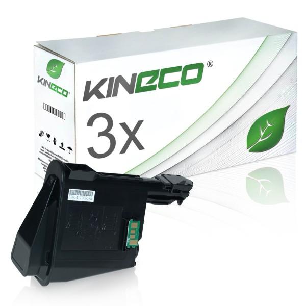3 Toner kompatibel zu Kyocera TK-1115 1T02M50NL0 XL Schwarz