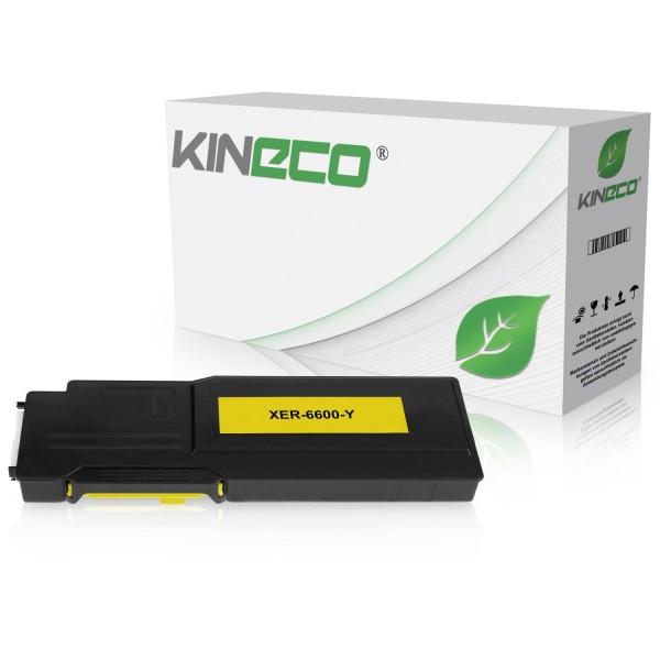 Toner kompatibel zu Xerox Phaser 6600 106R02231 XL Yellow