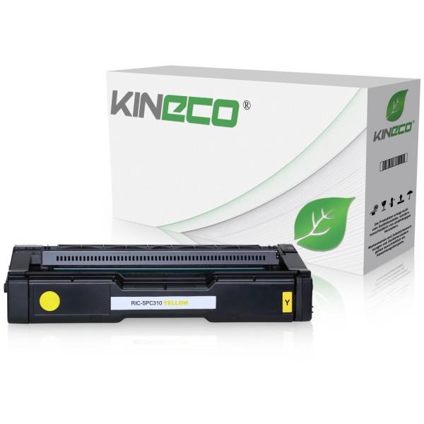 Toner kompatibel zu Ricoh SPC-231 SPC-310 XL TYPESPC310HE 406482 XXL Yellow