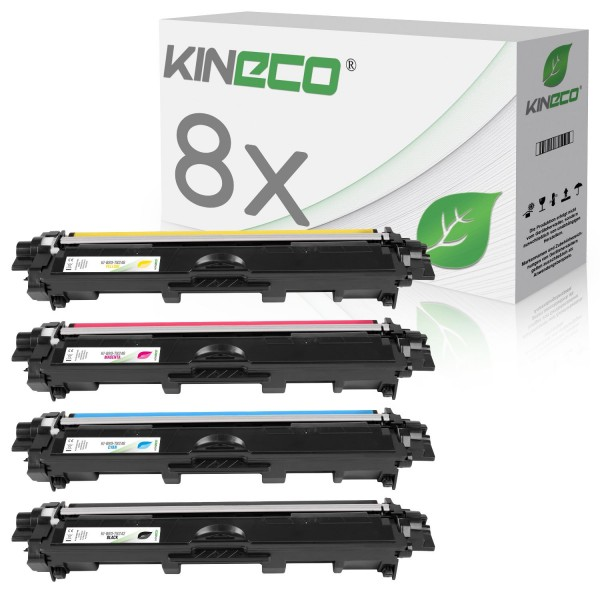 8 Toner kompatibel zu Brother TN-242 TN-246 XL