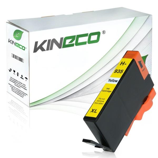 Tintenpatrone kompatibel zu HP 935XL C2P26AE XL Yellow